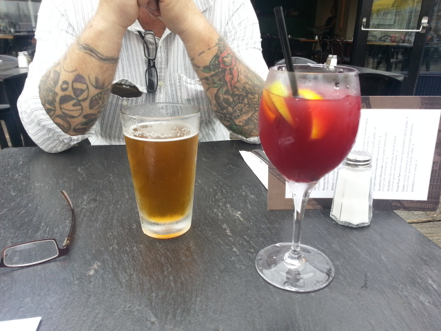 granville island beer and sangria