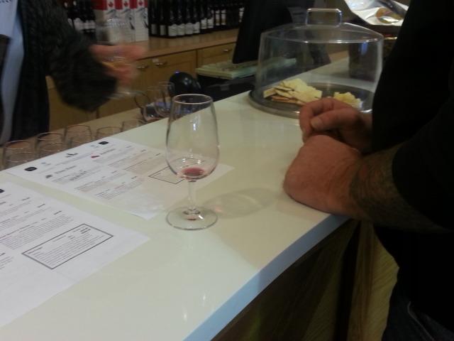 Lulu Island wine tasting