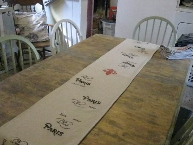 Paris Table Runner