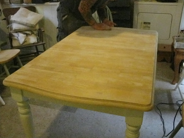 Table Sanded