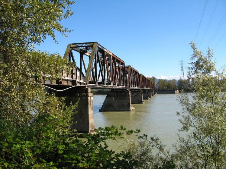 Mission railway bridge