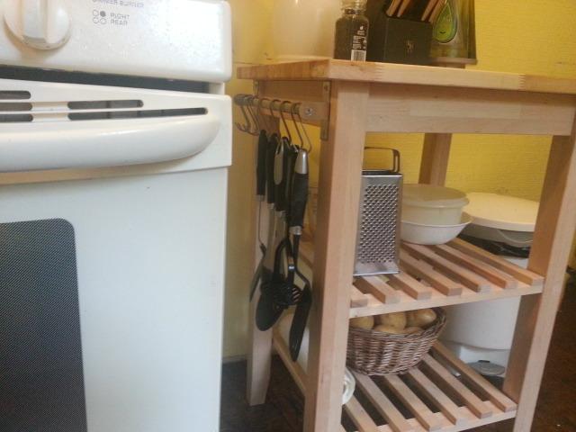 kitchen utensils after