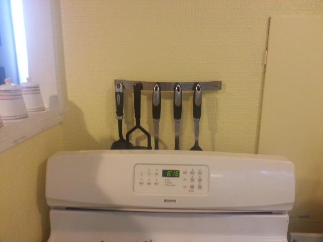 kitchen utensils before