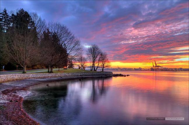Whiterock sunset