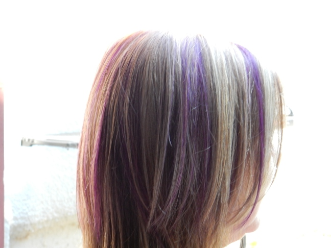Purple hair 2 - Aug 2014