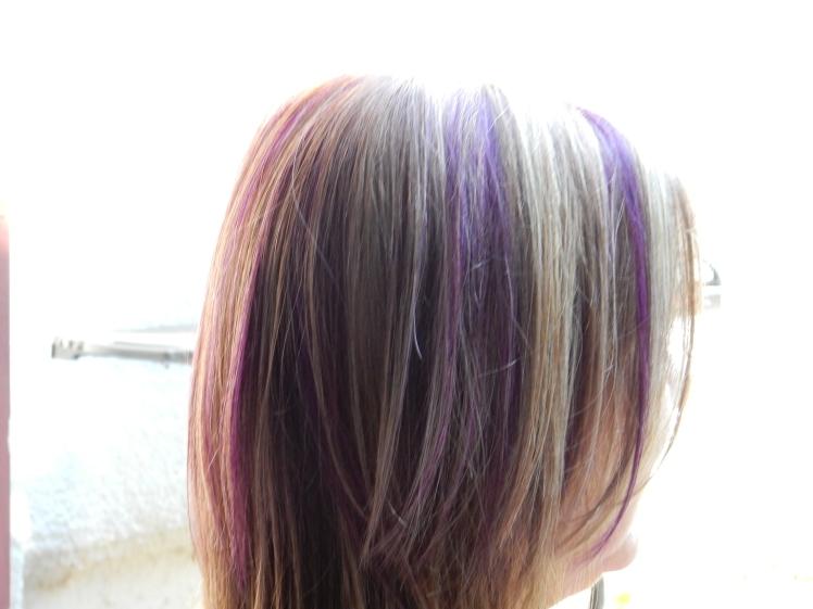 Purple hair 2 - Aug 2014