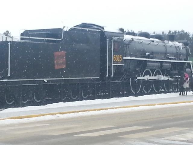 Steam Engine - Jasper village 2014